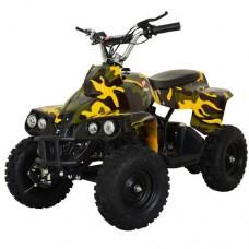 Детский квадроцикл PROFI HB-EATV 800C-13, желтый камуфляж