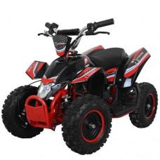 Детский квадроцикл PROFI HB-EATV 800K-3, черно-красный