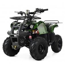 Детский квадроцикл PROFI HB-EATV1000 D-10, черно-зеленый
