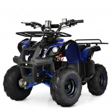 Детский квадроцикл PROFI HB-EATV1000 D-4, черно-синий
