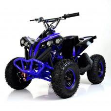 Детский квадроцикл PROFI HB-EATV 1000Q-4, черно-синий