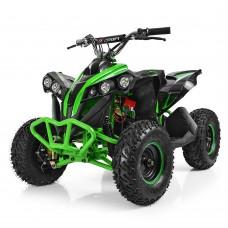 Детский квадроцикл PROFI HB-EATV 1000Q-5, черно-зеленый