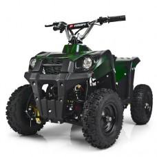 Детский квадроцикл PROFI HB-EATV800M-10, зеленый камуфляж