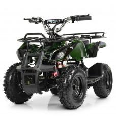 Детский квадроцикл PROFI HB-EATV800N-10 (MP3) V3, темно-зеленый