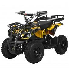 Детский квадроцикл PROFI HB-EATV800N-1 V2, Bluetooth, желтый камуфляж