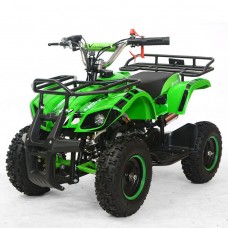 Детский квадроцикл PROFI HB-EATV 800N-5S V2, зеленый