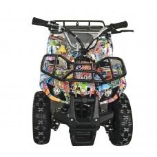 Квадроцикл HB-EATV800N-NEW8 V2 мотор 800W, 3аккум 12A/12V, скорос30км/ч, допуст.вес100кг, графити