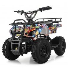 Детский квадроцикл PROFI HB-EATV800N-NEW8 V3, граффити