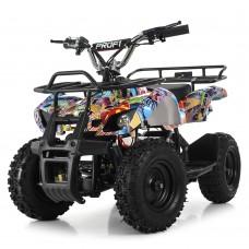 Детский квадроцикл PROFI HB-EATV800N-NEW8 (MP3) V3, граффити