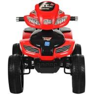 Детский квадроцикл Bambi M 0417 E-3, красный