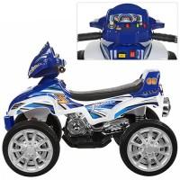 Детский квадроцикл Bambi M 0417 E-4, синий