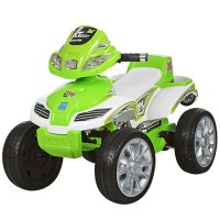 Детский квадроцикл Bambi M 0417 E-5, зеленый