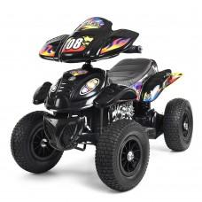 Детский квадроцикл Bambi M 2403ALR-2, черный
