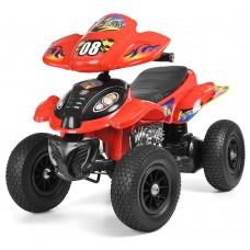 Детский квадроцикл Bambi M 2403ALR-3, красный