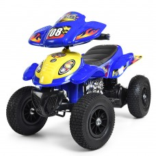 Детский квадроцикл Bambi M 2403ALR-4, синий