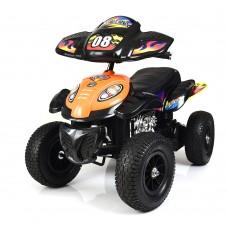 Детский квадроцикл Bambi M 2403ALR-7, оранжевый
