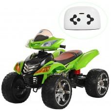 Детский квадроцикл Bambi M 3101 EBLR-5 MP3, зеленый
