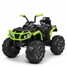 Детский квадроцикл Bambi M 3156 EBLR-2-5, зелено-черный