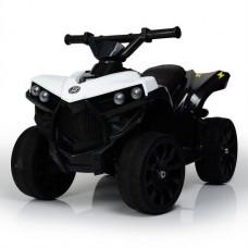 Детский квадроцикл Bambi M 3638 EL-1, черно-белый