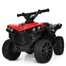 Детский квадроцикл Bambi M 3638 EL-3, черно-красный