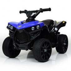 Детский квадроцикл Bambi M 3638 EL-4, черно-синий