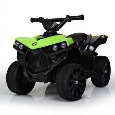 Детский квадроцикл Bambi M 3638 EL-5, черно-зеленый