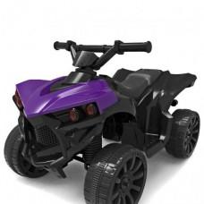 Детский квадроцикл Bambi M 3638 EL-9, черно-фиолетый