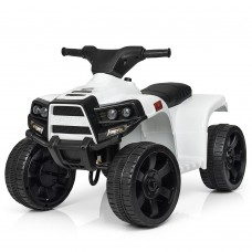 Детский квадроцикл Bambi M 3893 L-1, белый