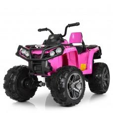 Детский квадроцикл Bambi M 3999 EBLR-8, розовый