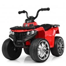 Детский квадроцикл Bambi M 4137 EL-3, красный