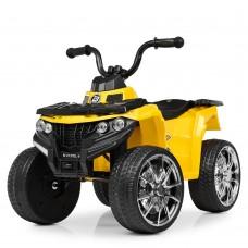 Детский квадроцикл Bambi M 4137 EL-6, желтый