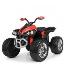 Детский квадроцикл Bambi M 4200 EBLR-3, черно-красный