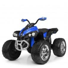 Детский квадроцикл Bambi M 4200 EBLR-4, черно-синий