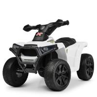 Детский квадроцикл Bambi M 4207 EL-1, белый