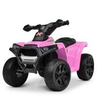 Детский квадроцикл Bambi M 4207 EL-8, розовый