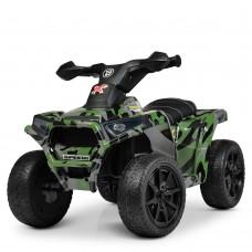 Детский квадроцикл Bambi M 4207 ELS-18, камуфляж