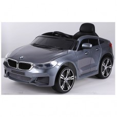Детский электромобиль Bambi JJ 2164 EBLRS-11 BMW 6 GT, серый