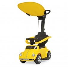 Детский электромобиль каталка толокар Bambi JQ 618 L-6, желтый