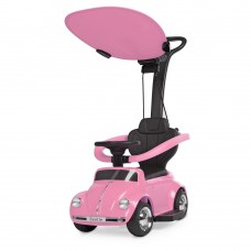 Детский электромобиль каталка толокар Bambi JQ 618 L-8, розовый