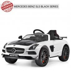 Детский электромобиль Bambi M 2760 EBLR-1-2 Mercedes Benz AMG, белый