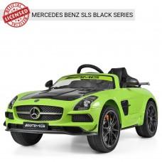 Детский электромобиль Bambi M 2760 EBLRS-5-2 Mercedes Benz AMG, зеленый