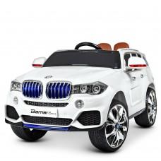 Детский электромобиль Джип Bambi M 2762 EBLR-1 MP4 BMW, белый