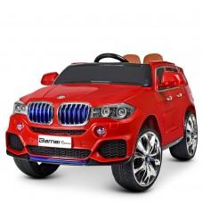 Детский электромобиль Джип Bambi M 2762 EBLR-3 MP4 BMW X5, красный