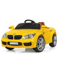 Детский электромобиль Bambi M 2773 EBLR-6 BMW, желтый