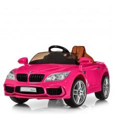 Детский электромобиль Bambi M 2773 EBLRS-8 BMW, розовый