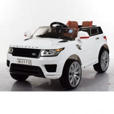 Детский электромобиль Джип Bambi M 2775 EBLR-1 Land Rover, белый