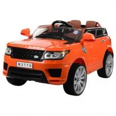 Детский электромобиль Джип Bambi M 2775 EBLR-7 Land Rover, оранжевый