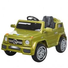 Детский электромобиль Джип Bambi M 2788 EBLR-5 Mercedes, зеленый