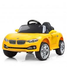Детский электромобиль Bambi M 3175 EBLR-6 BMW, желтый