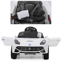 Детский электромобиль Bambi M 3176 EBLR-1 Ferrari, белый